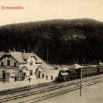Gulsvik-stasjon-jernbane-gammelt-bergensbanen