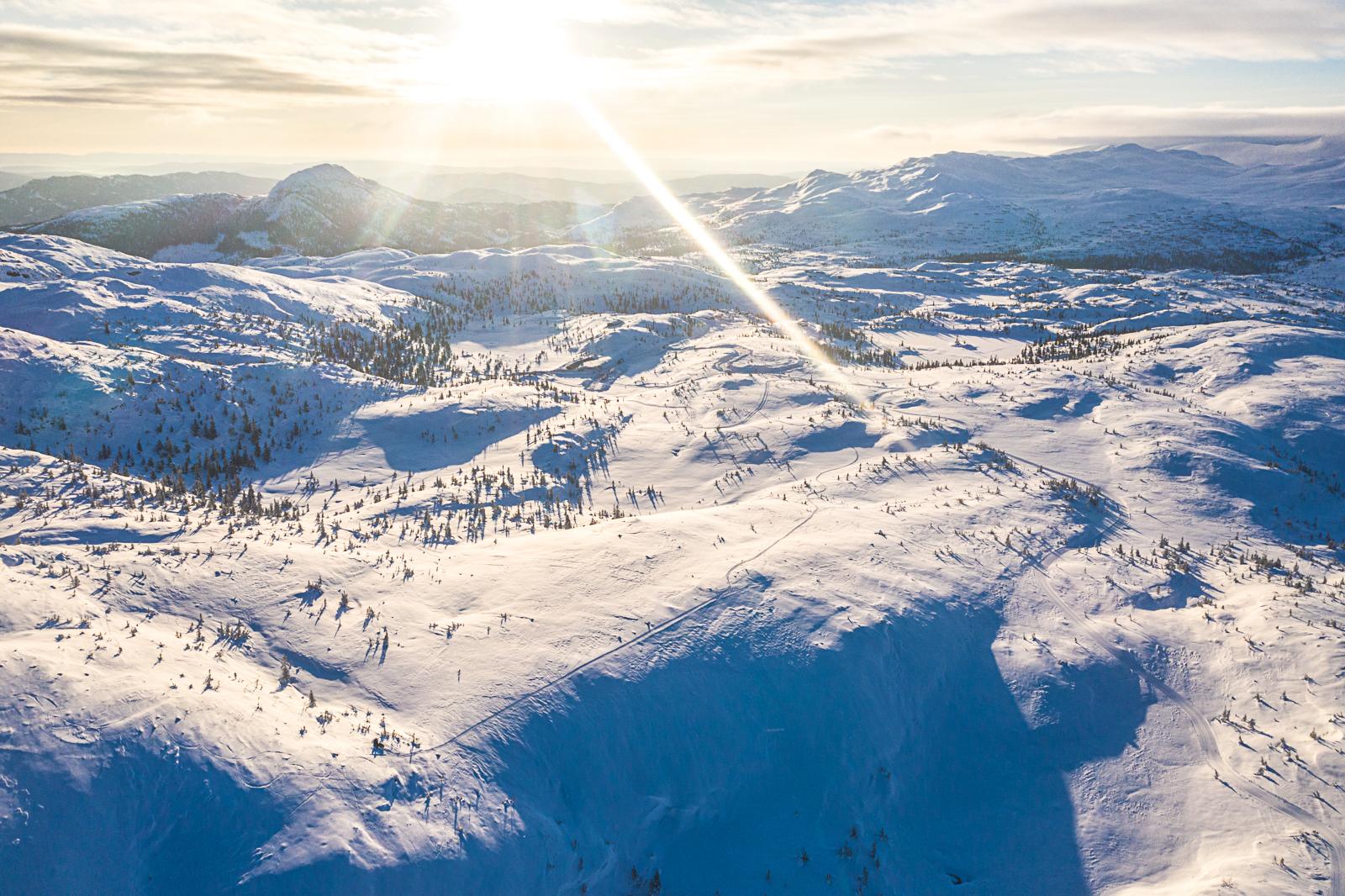 Nytt tomtefelt – Vardefjell Vest. Sikre deg en av de siste høyfjellstomtene på Høgevarde!